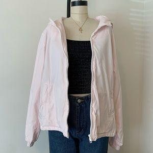 Brandy Melville light pink cotton Kris's jacket